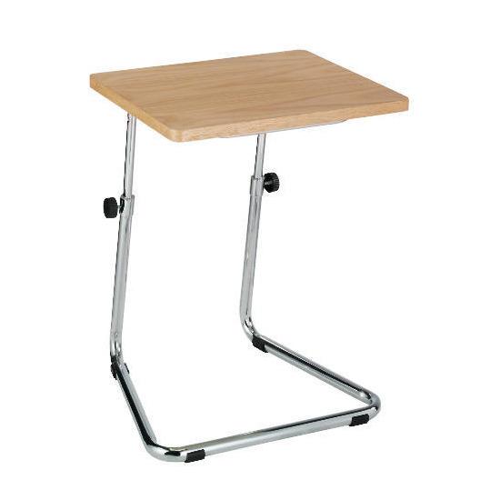 Tilt Laptop Table, Oak