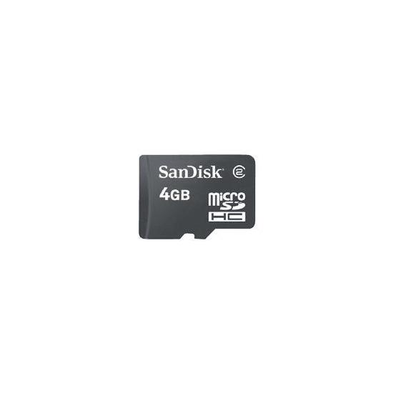 SanDisk Micro SDHC 4GB Memory card