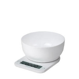 Salter Electronic Platfrom with Mixing Bowl 5kg Reviews