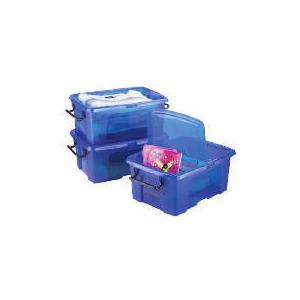 Photo of Smart Box 6L Blue 3 Pack Household Storage