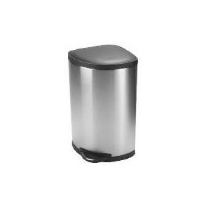 Photo of Simplehuman 38L Corner Bin With Plastic Lid Bin