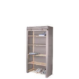 Tesco recycled fabric covered 5 shelf unit Reviews