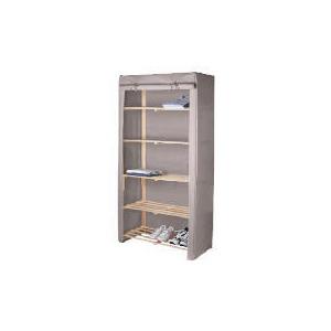 Photo of Tesco Recycled Fabric Covered 5 Shelf Unit Household Storage