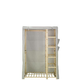 Tesco recycled fabric covered wardrobe Reviews