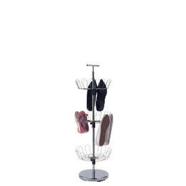 Tesco chrome carousel shoe rack Reviews