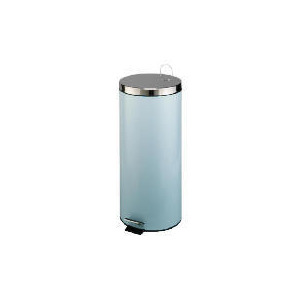 Photo of Tesco 30L Stainless Steel Bin Duck Egg Blue Bin