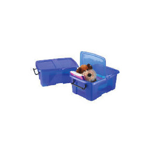Photo of Smart Box 12L Blue 2 Pack Household Storage