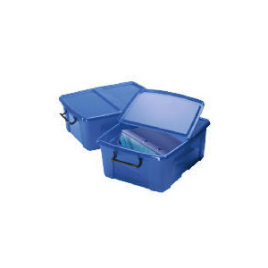 Photo of Smart Box 24L Blue 2 Pack Household Storage