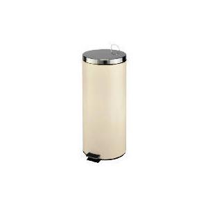 Photo of 30L Cream Stainless Steel Bin Bin