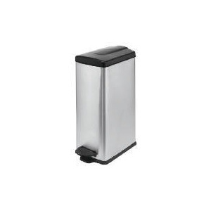 Photo of Slimline Poilshed Stainless Steel Bin 45L Bin