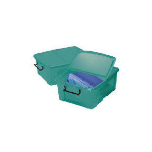 Photo of Smart Box 24L Aqua 2 Pack Household Storage