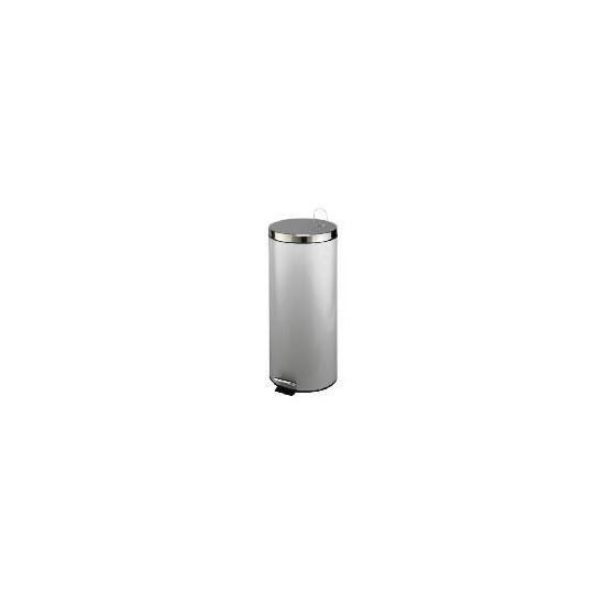 Tesco brushed stainless steel pedal bin 30L