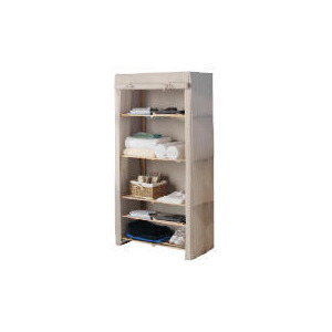 Photo of Tesco Canvas Covered 5 Shelf Unit Household Storage