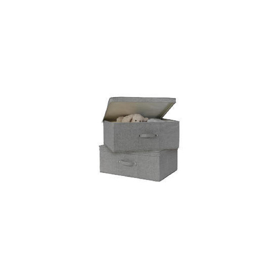 Tesco recycled fabric folding boxes 2 pack