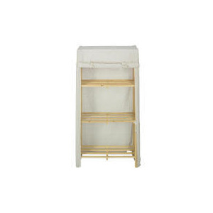 Photo of Tesco Canvas Covered 3 Shelf Unit Tall Household Storage