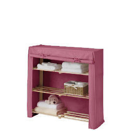 Tesco kids canvas covered shelves pink Reviews