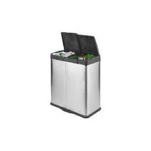 Photo of Tesco Stainless Steel Recycling Bin Family Sized Bin