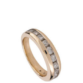 9ct Gold 1/2 Carat Diamond Eternity Ring, O Reviews