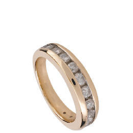 9ct Gold 1/2 Carat Diamond Eternity Ring, Q Reviews