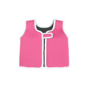 Photo of Fun To Learn Neoprene Pink Swim Vest 4-5 Years Swimwear