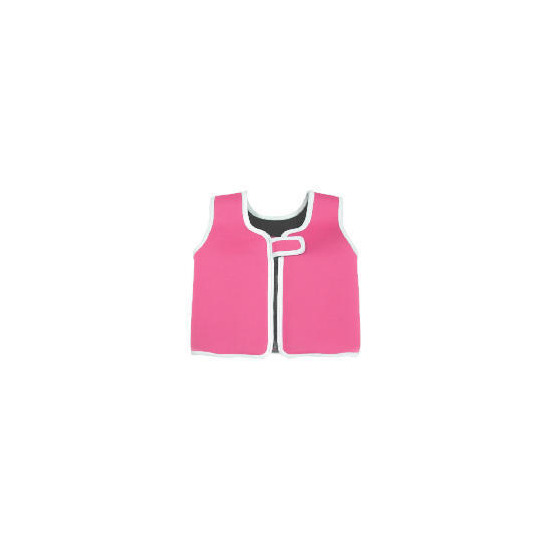 Fun to Learn Neoprene Pink Swim Vest 4-5 years