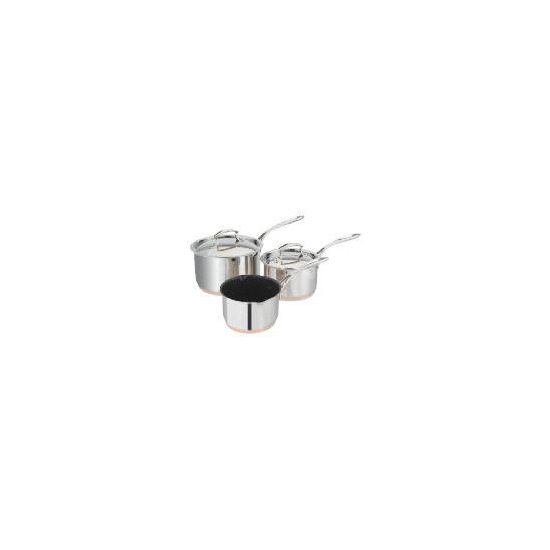 Tesco Finest Copper Base 3 Piece Pan Set Reviews And Prices
