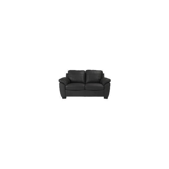 Arizona Leather Sofa, Black