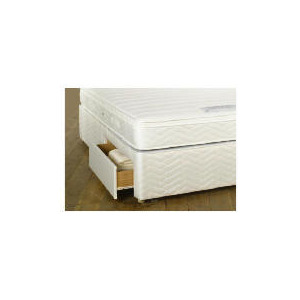 Photo of Sealy Posturepedic Ultra Memory Superior Double 2 Drawer Divan Set Bedding