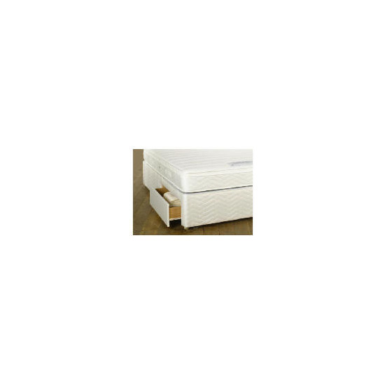Sealy Posturepedic Ultra Memory Superior Double 2 Drawer divan set