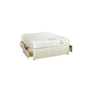 Photo of Sealy Posturepedic Ultra Memory Superior Super King 4 Drawer Divan Set Bedding