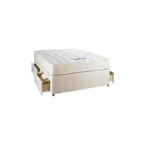 Photo of Simmons Pocket Sleep 800 Comfort Double 4 DRW Divan Set Bedding
