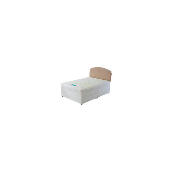 Silentnight Mira coil Memory Single Non storage divan set