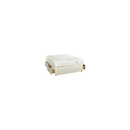 Sealy Posturepedic Ultra Memory Superior King 4 Drawer divan set