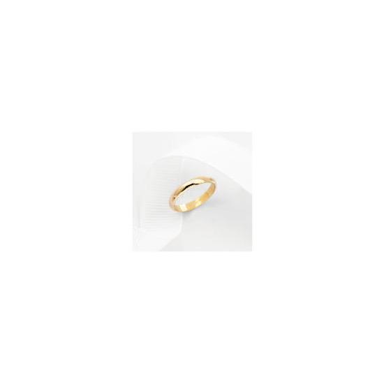 9ct Gold 3mm Wedding Ring J
