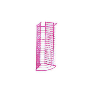 Photo of Oscar Wiremesh Pink CD Rack CD and DVD Storage