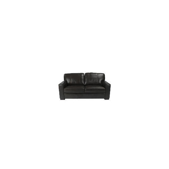Ohio Large Leather Sofa, Chocolate