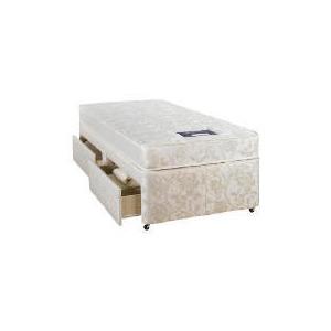 Photo of Nestledown Supaluxe 700 Single 2 DRW Divan Set Bedding