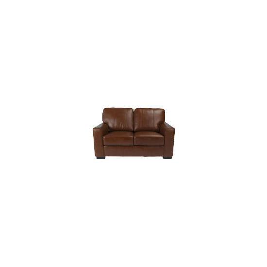 Ohio Leather Sofa, Cognac