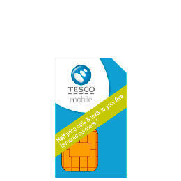 Tesco Mobile Pay As You Go SIM Reviews