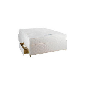 Photo of Silentnight Mira Coil Memory Double 2 Drawer Divan Set Bedding