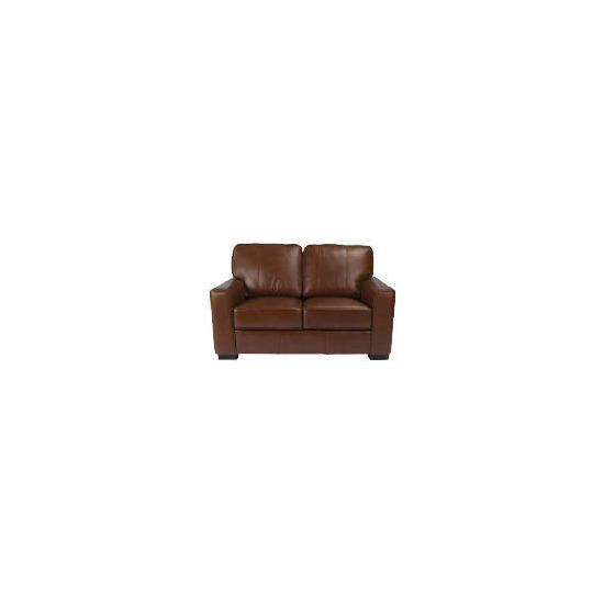 Ohio Leather Sofa, Chocolate