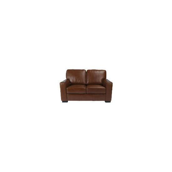 Ohio Leather Sofa, Chocolate