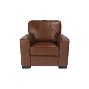 Photo of Ohio Leather Chair, Chocolate Furniture