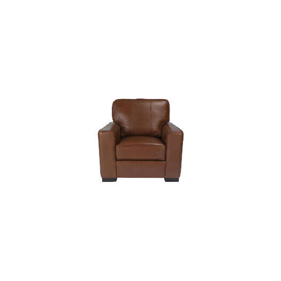 Ohio Leather Chair, Chocolate