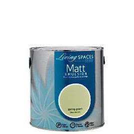 LIVING SPACES MATT GREEN 2.5L Reviews