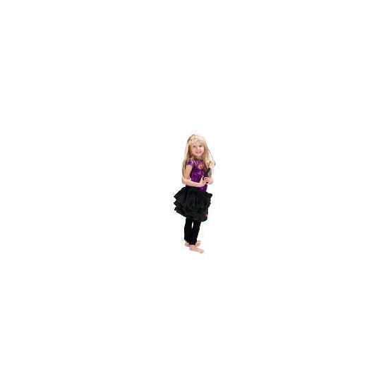 Hannah Montana Purple Dress Up Age 3/4
