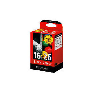 Photo of Lexmark 16 and 26 Multipack Ink Ink Cartridge
