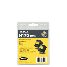 Tesco H170 black twin pack ink Reviews