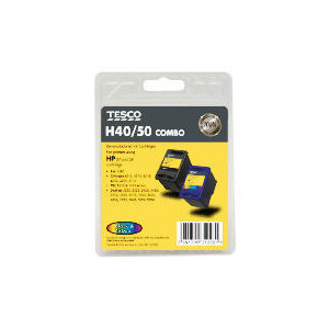 Photo of Tesco H40 and H50 Multipack Ink Ink Cartridge