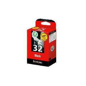 Photo of Lexmark 32 Black Twin Pack Ink Ink Cartridge